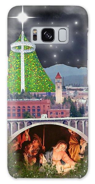 Christmas In Spokane Galaxy Case