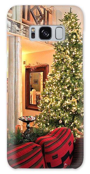 Christmas In The Adirondacks Galaxy Case by Ann Murphy