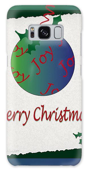 Christmas Joy Galaxy Case