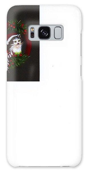Christmas Kitten Galaxy Case by Catherine Swerediuk