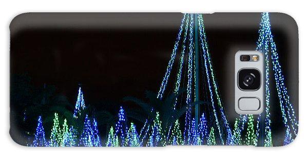 Christmas Lights 1 Galaxy Case