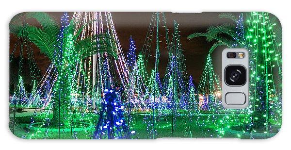 Christmas Lights 2 Galaxy Case
