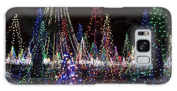 Christmas Lights 3 Galaxy Case
