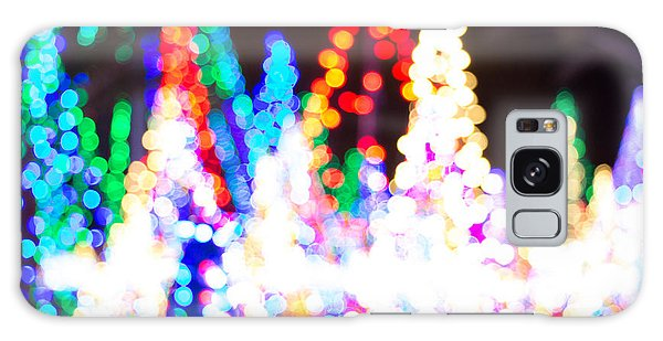Christmas Lights Abstract Galaxy Case