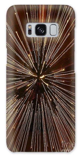 Christmas Lights Galaxy Case by Birgit Tyrrell