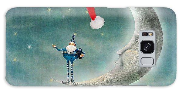 Christmas Moon Galaxy Case