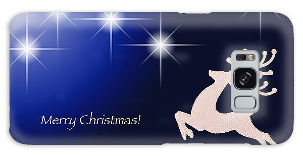Christmas Night Galaxy Case by Simona Ghidini