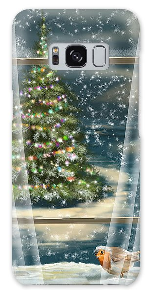 Christmas Night Galaxy Case
