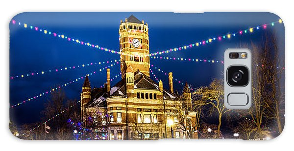 Christmas On The Square Galaxy Case