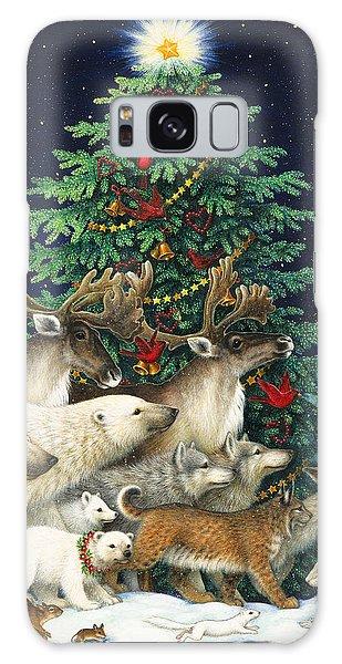 Polar Bear Galaxy S8 Case - Christmas Parade by Lynn Bywaters