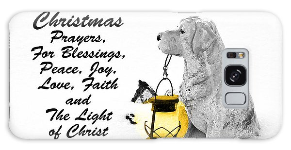 Christmas Prayers Galaxy Case by Lorna Rogers Photography