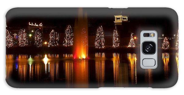 Christmas Reflection - Christmas Card Galaxy Case