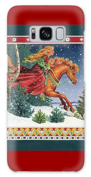 Christmas Ride Galaxy Case