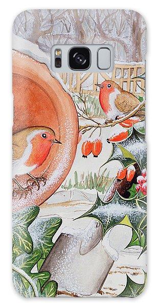 Christmas Robins Galaxy S8 Case
