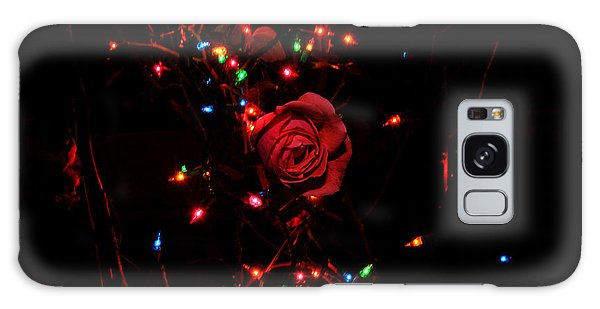 Christmas Rose Galaxy Case by Diane Lent