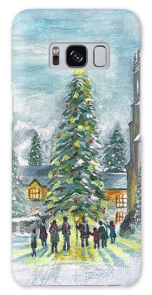 Christmas Spirit Galaxy Case by Teresa White