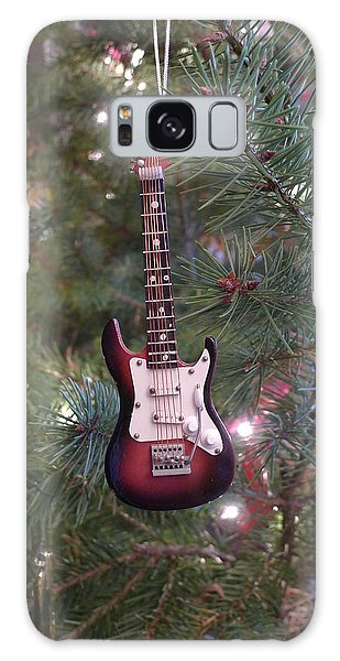 Christmas Stratocaster Galaxy Case by Richard Reeve