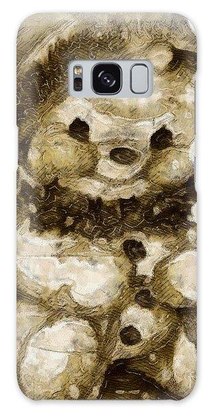 Christmas Teddy Bear Galaxy Case by Yanni Theodorou