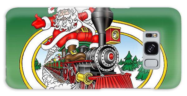 Galaxy Case - Christmas Train by Bill Proctor