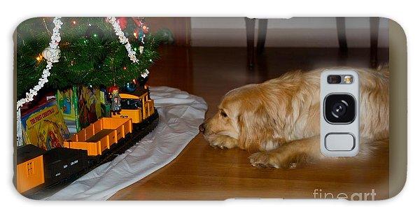 Christmas Train Galaxy Case