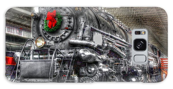 Christmas Train-the Holiday Station Galaxy Case