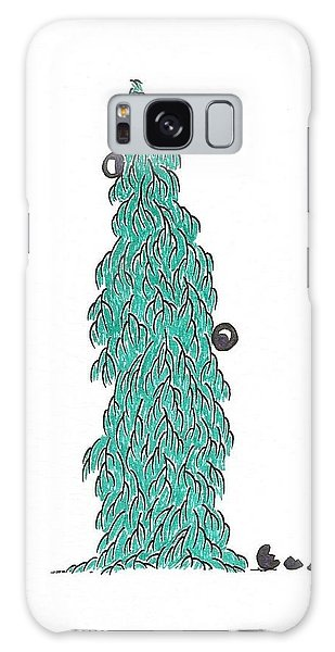 Christmas Tree 5 Galaxy Case