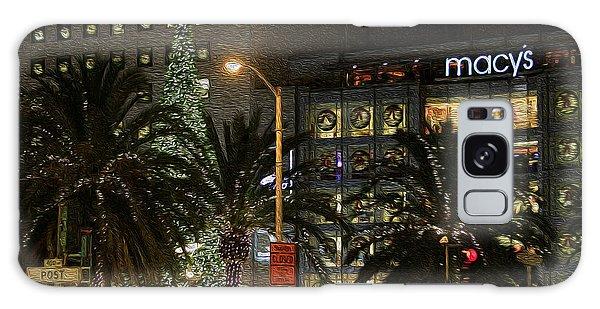 Christmas Tree At Union Square Galaxy Case