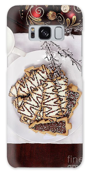 Christmas Tree Cookies An Milk Galaxy Case
