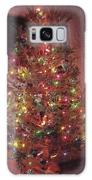 Christmas Tree Memories Red Galaxy Case