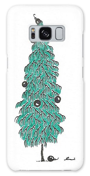 Christmas Tree 2 Galaxy Case
