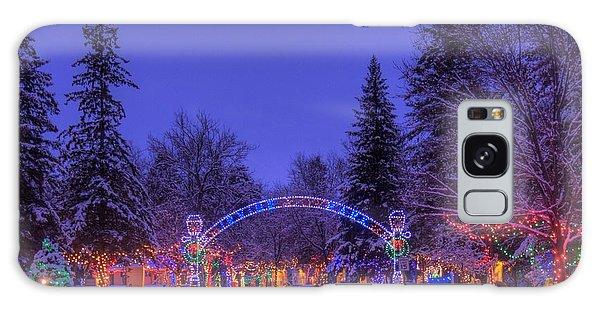Christmas Village Galaxy Case by Larry Capra