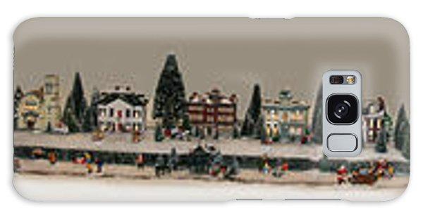 Christmas Village Galaxy Case