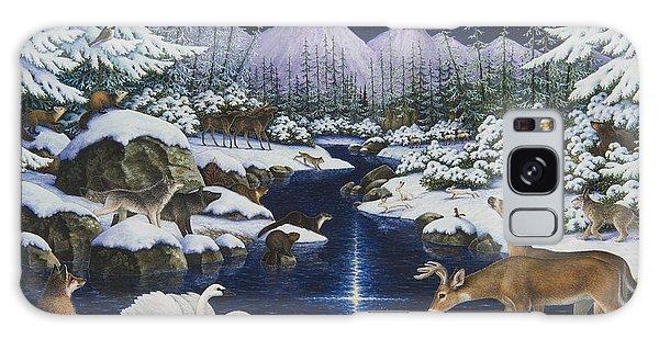 Otter Galaxy Case - Christmas Wonder by Lynn Bywaters