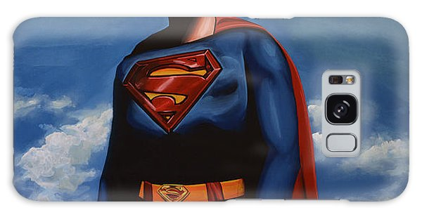 Realistic Galaxy Case - Christopher Reeve As Superman by Paul Meijering