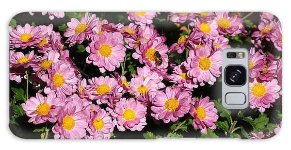Chrysanthemum Bouquet Galaxy Case