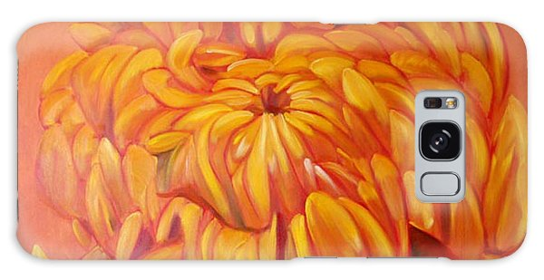 Chrysanthemum Galaxy Case by Shelley Overton