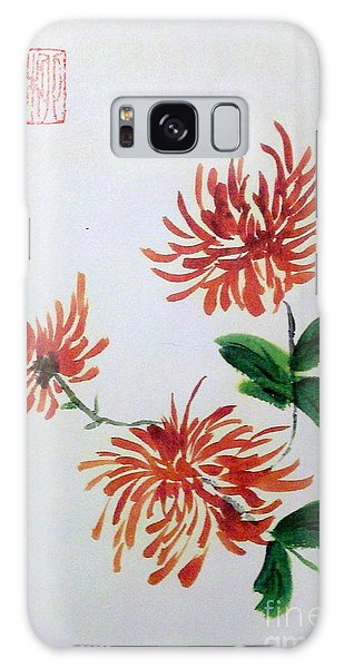 Chrysanthemums Galaxy Case