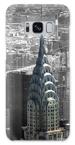 Chrysler Building Galaxy Case by Angela DeFrias