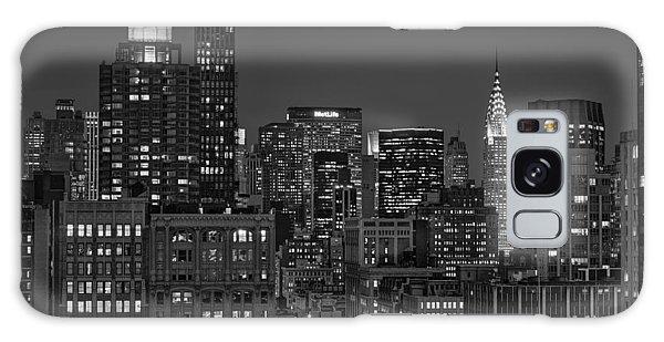 Chrysler Building Twilight Bw Galaxy Case