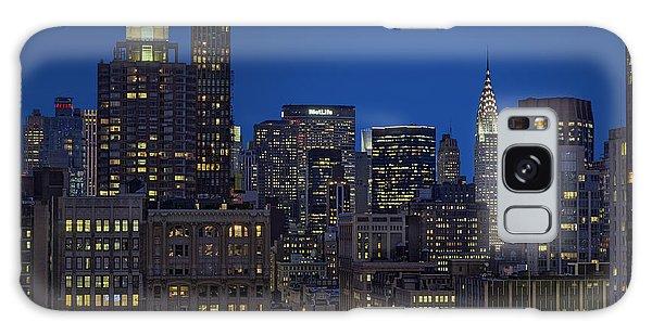 Chrysler Building Twilight Galaxy Case by Susan Candelario