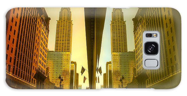 Chrysler Reflection On 42nd Street Galaxy Case