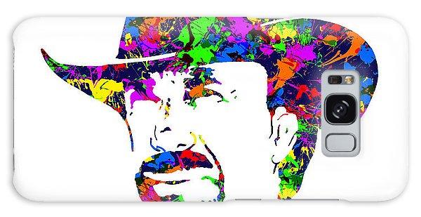 Chuck Norris Paint Splatter Galaxy Case