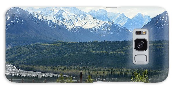 Chugach Mountains Galaxy Case