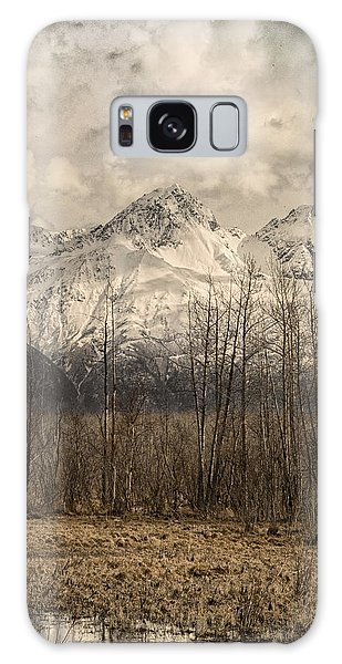 Chugach Mountains In Storm Galaxy Case