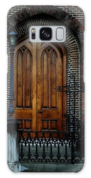 Church Arch And Wooden Door Architecture Galaxy Case