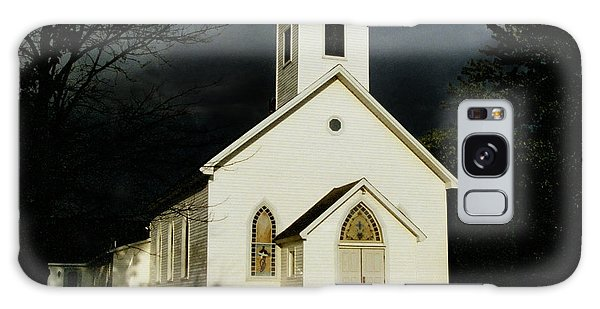 Church At Dusk Galaxy Case
