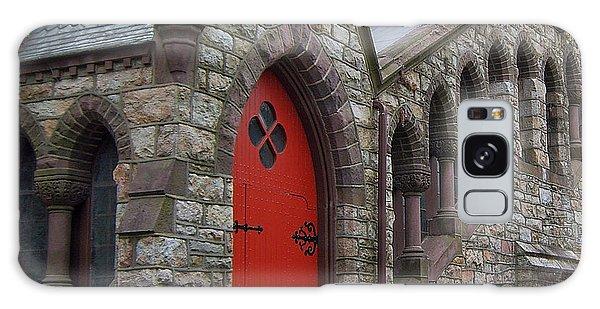 Church Door Galaxy Case by Val Miller