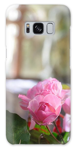 Church Flowers Galaxy Case by Jeremy Voisey
