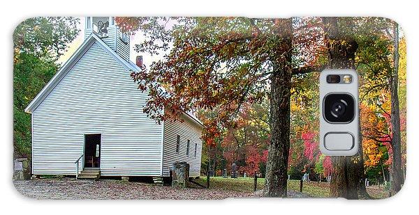 Church In Fall Galaxy Case