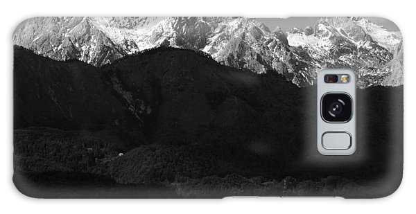 Church Of Saint Peter In Black And White Galaxy Case